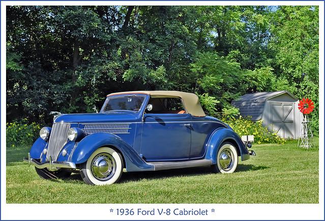1936 Ford V-8 Cabriolet