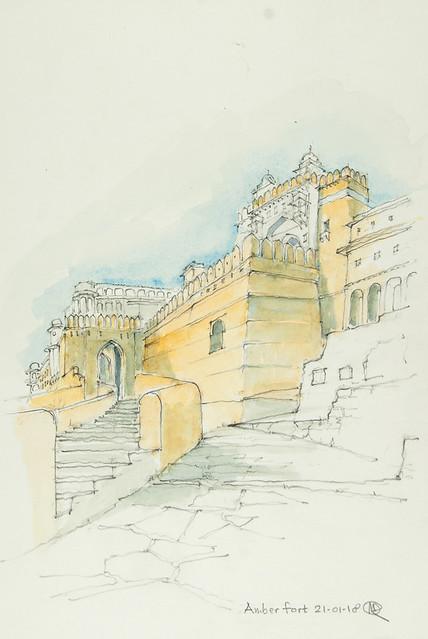 180121 Amber Fort - Sun Gate / Suraj Pol