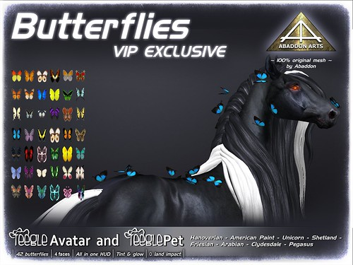 ABADDON ARTS - Butterflies