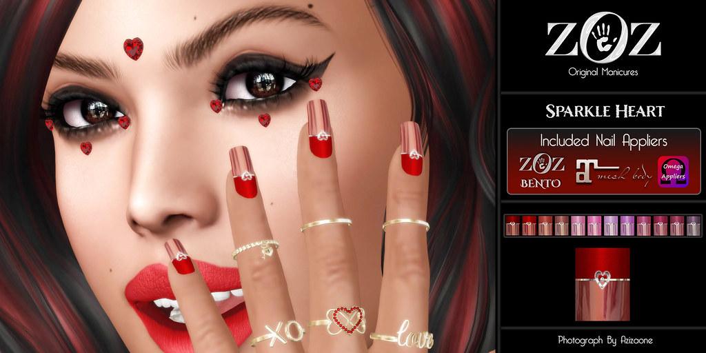 {ZOZ} Sparkle Heart pix