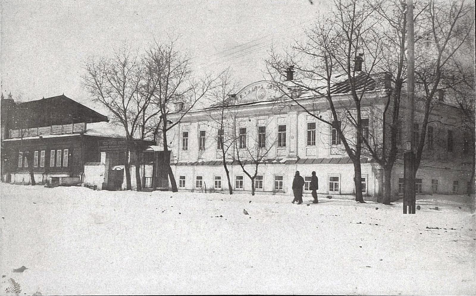 Русско-Азиатская компания. Общий вид зданий. Курган