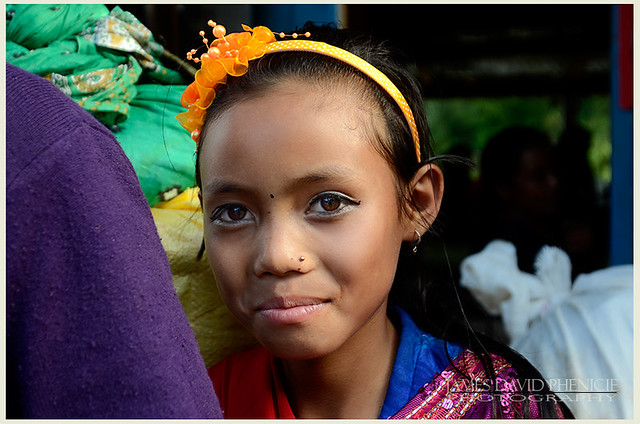 Faces of Nepal:   Mountain Daughter