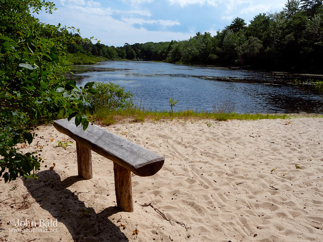 Bench with a View, Saco, Maine (90021)