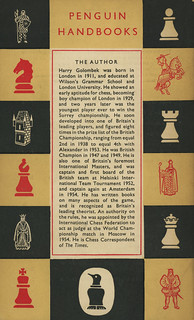 Penguin Books PH24 - H. Golombek - The Game of Chess (back)