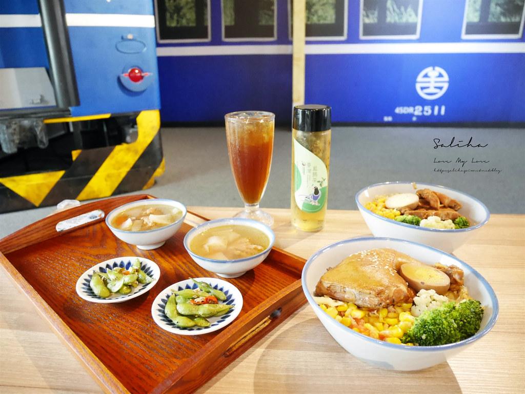 台北國立臺灣博物館鐵道部1928鐵道餐廳食記好吃餐點分享 (1)