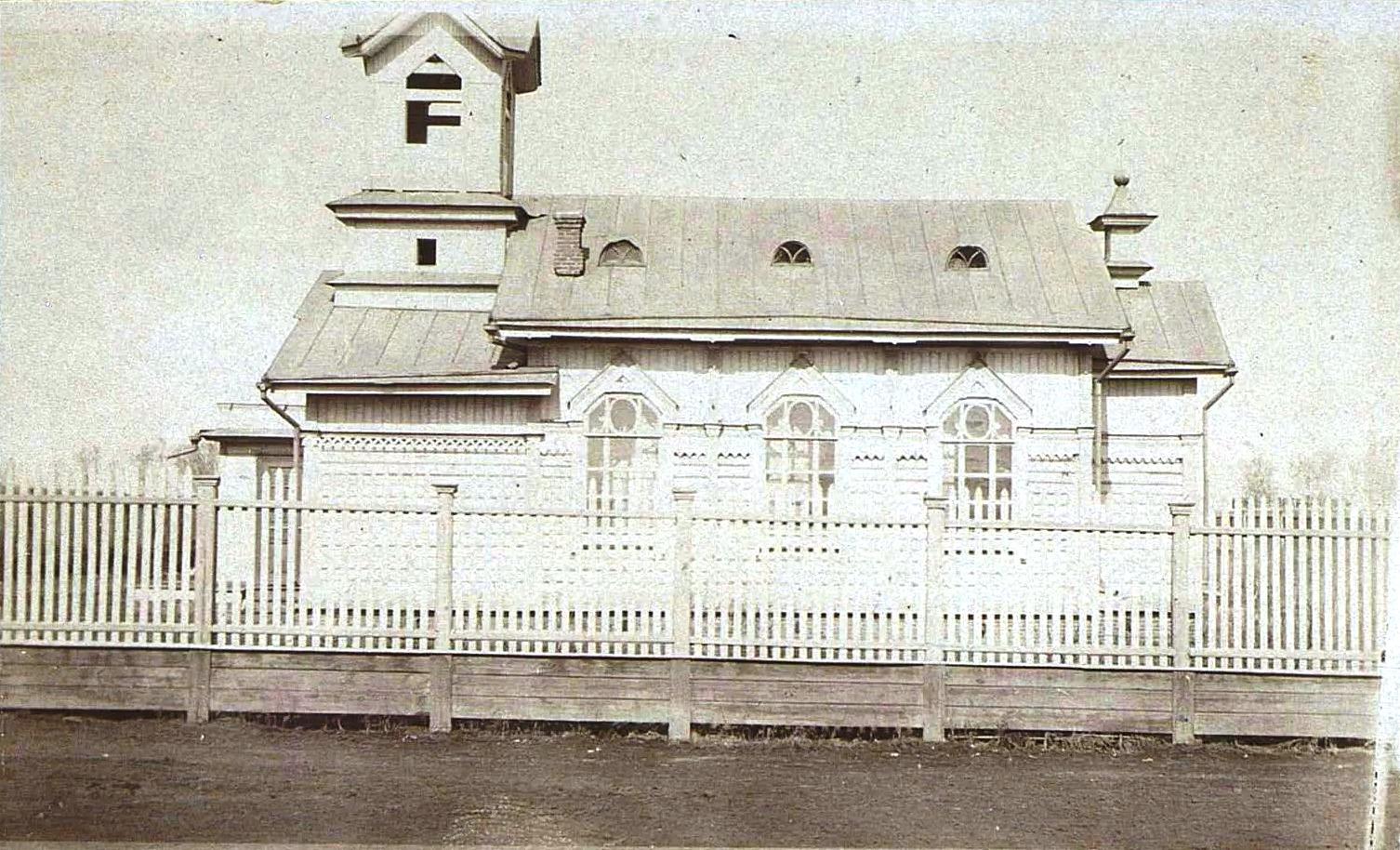 Деревянный католический храм