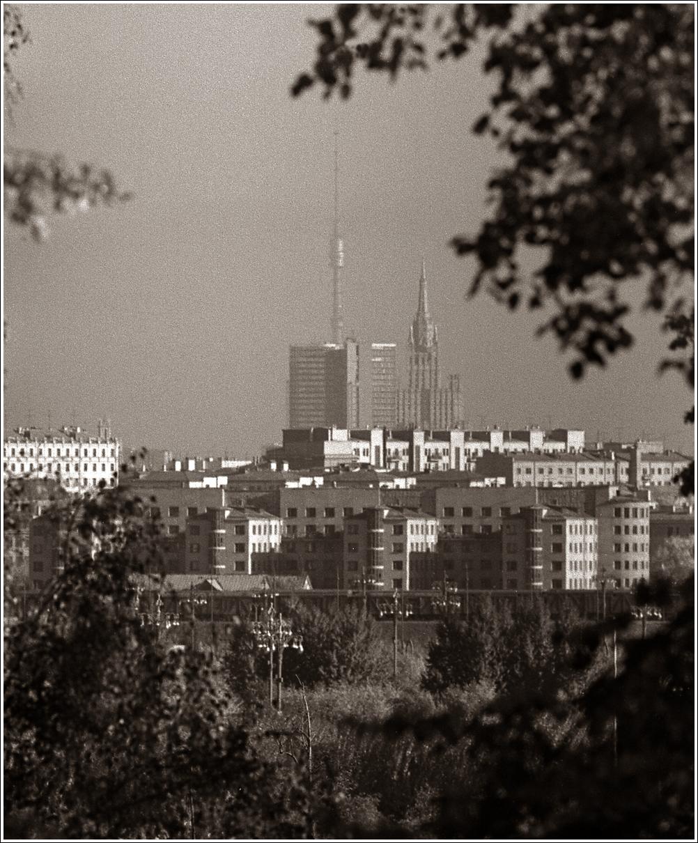 95. 1967. Вид с Воробьёвых гор, 03.10.
