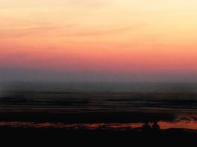Summer sunset lines