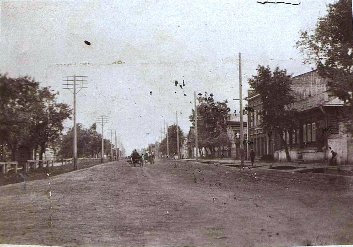 Курган. Городская улица