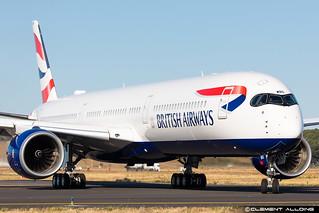 British Airways Airbus A350-1041 cn 432 F-WZGM // G-XWBG