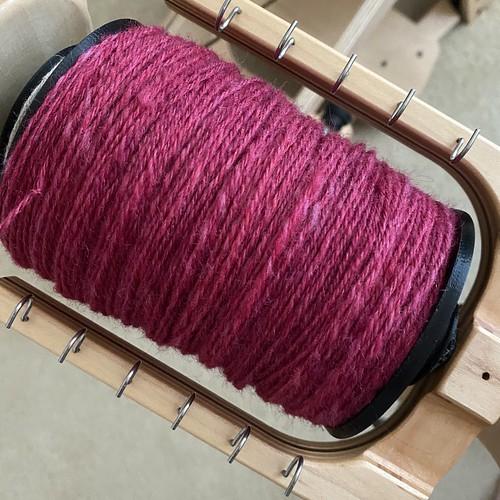 Raspberry yarn