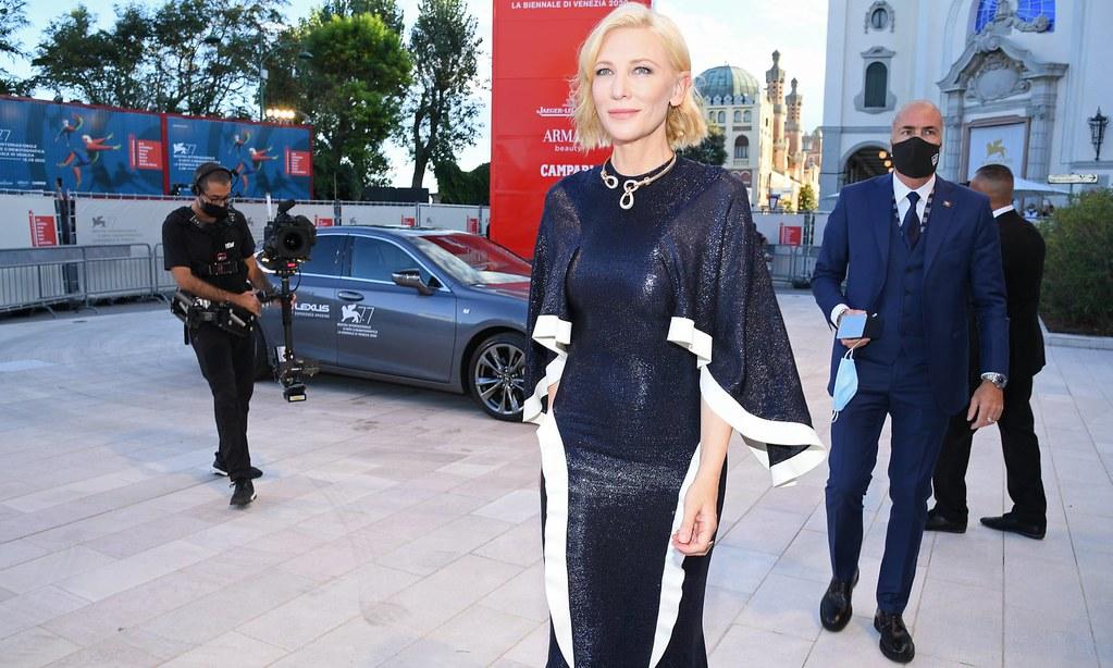 威尼斯影展評審團主席凱特·布蘭琪支持最佳演員不分男女。(圖片來源:Pascal Le Segretain/Getty Images)