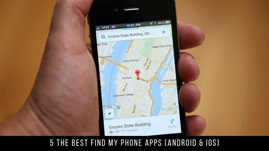5 The Best Find My Phone Apps (Android & iOS)