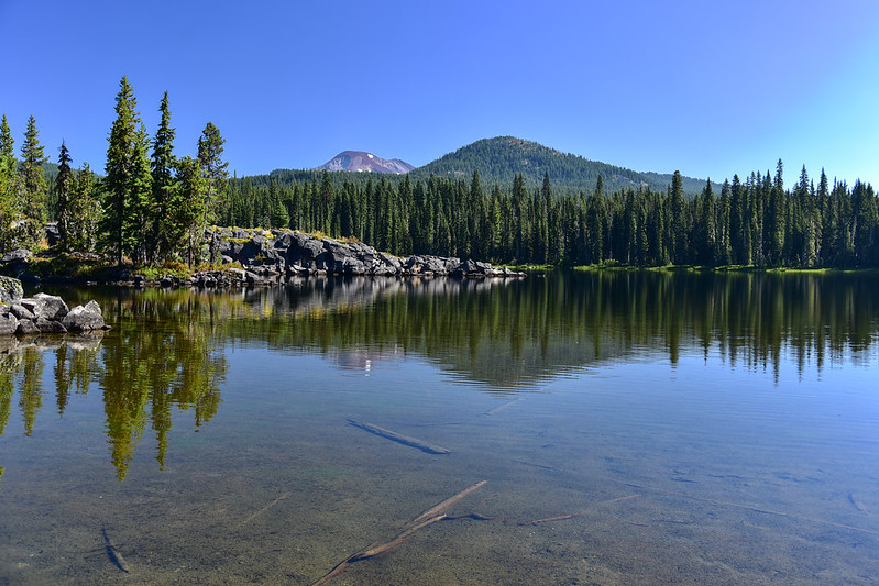 South Sister and Red Hill