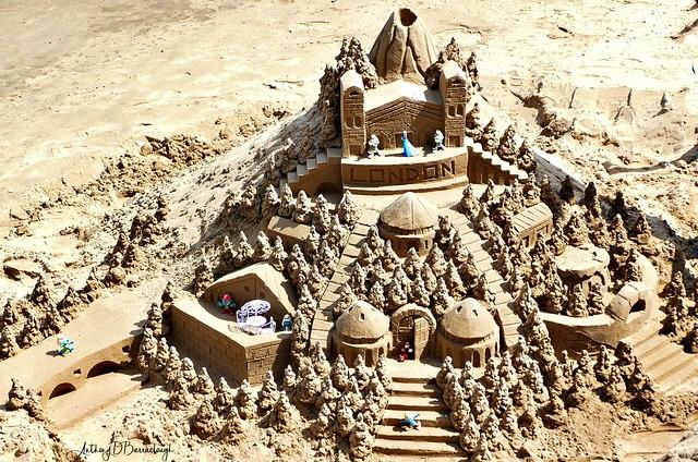 Beach Sand Sculpture 546-1