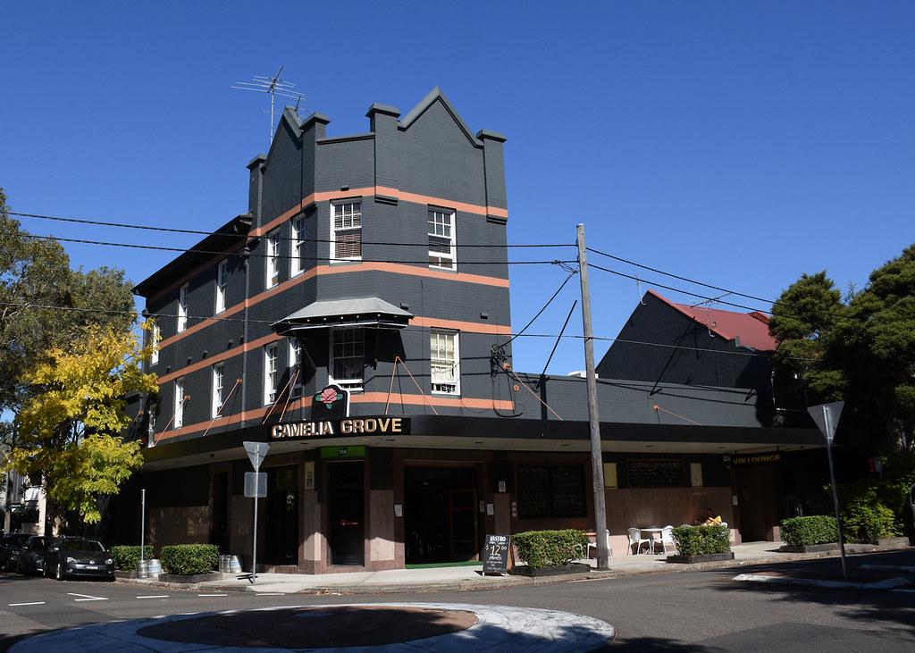 Camelia Grove Hotel, Alexandria, Sydney, NSW.