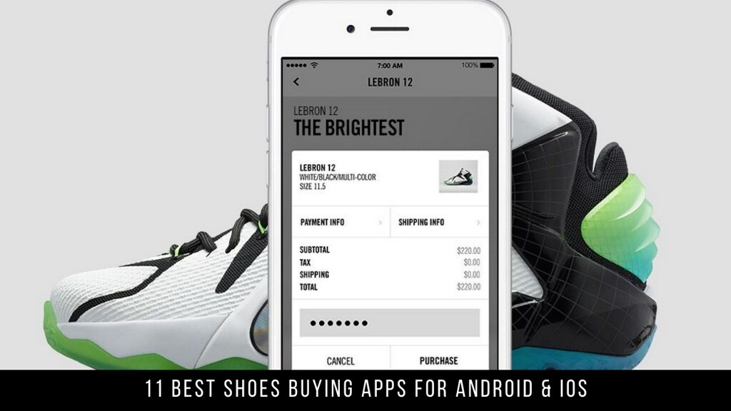 11 Best Shoes Buying Apps For Android & iOS