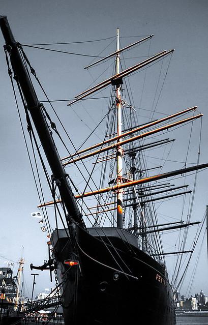 Sailing Ship PEKING....