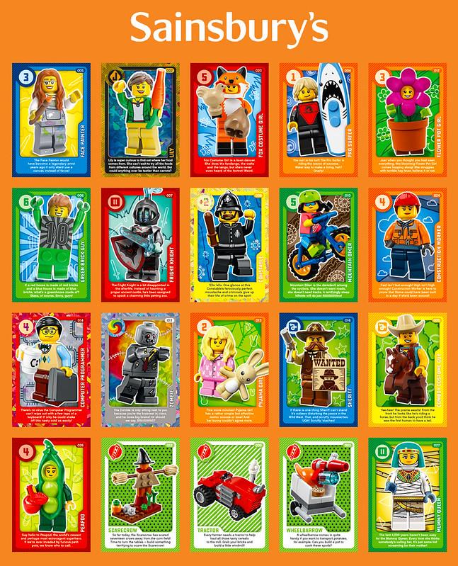 LEGO Sainsburys Create The World 3