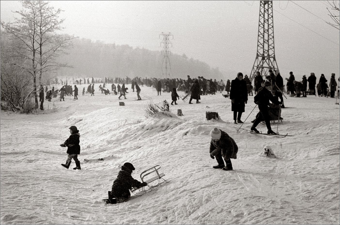 94. 1967. Измайловский парк, 06 декабря