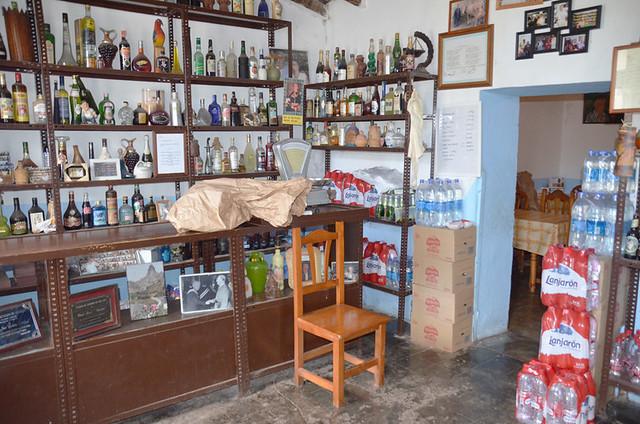 Bar in Anaga, Tenerife, Canary Islands