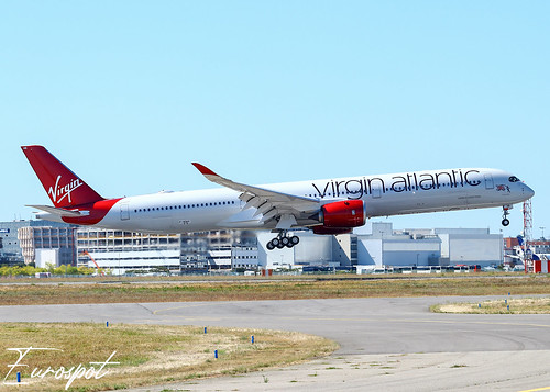F-WZNY Airbus A350-1000 Virgin Atlantic | by @Eurospot