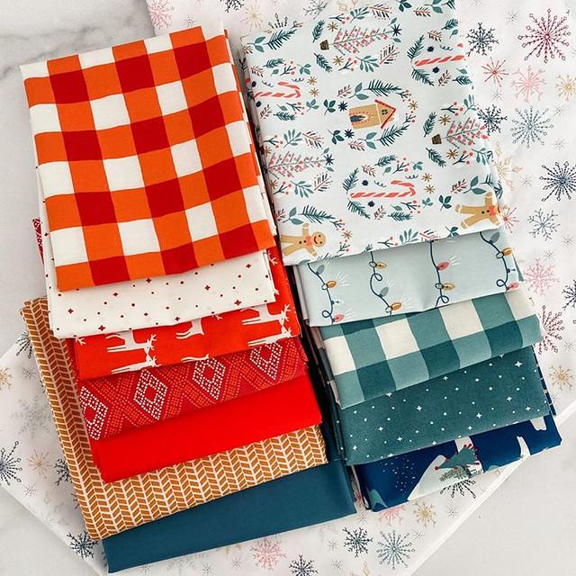 Maureen -- Cozy and Joyful Quilt Kit