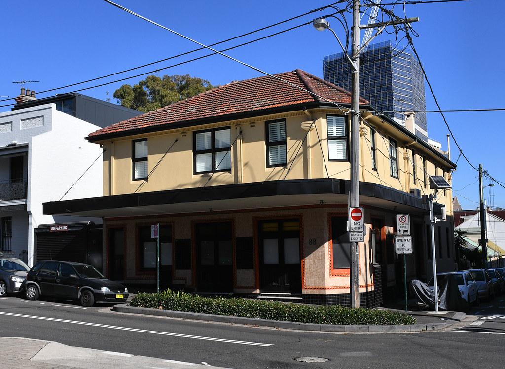 Former Redfern Hotel, Redfern, Sydney, NSW.