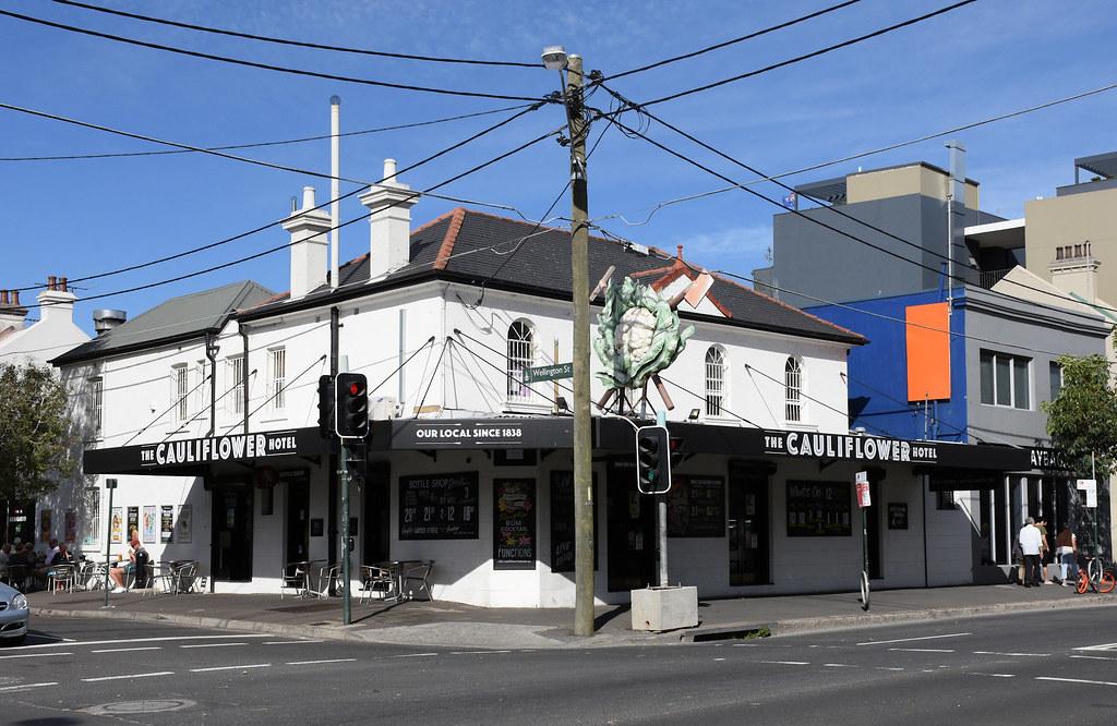 Cauliflower Hotel, Waterloo, Sydney, NSW.