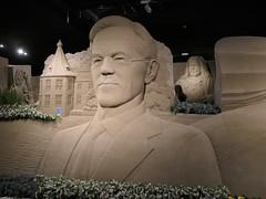 Sandsculptures puzzle Garderen 2020