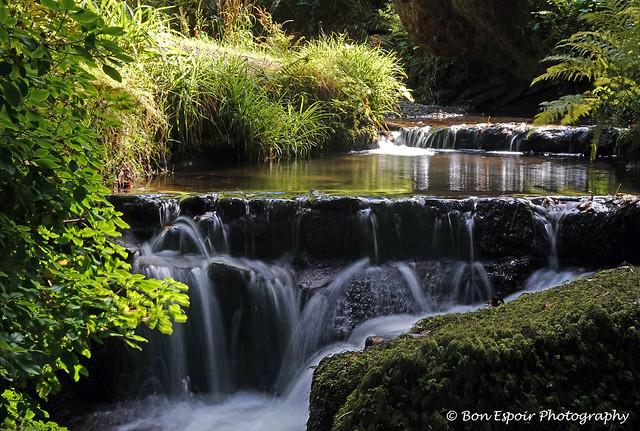 Water feature at Bodnant Garden