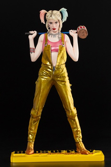 性感又危險!壽屋 ARTFX《猛禽小隊:小丑女大解放》哈莉‧奎茵
