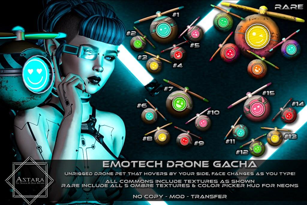 Astara – EmoTech Drone Gacha