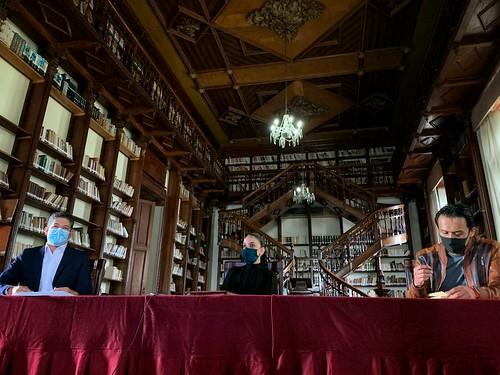 08 Sep 2020 . Secretaría de Cultura . Presentación del Programa Nacional de Bibliotutorías.