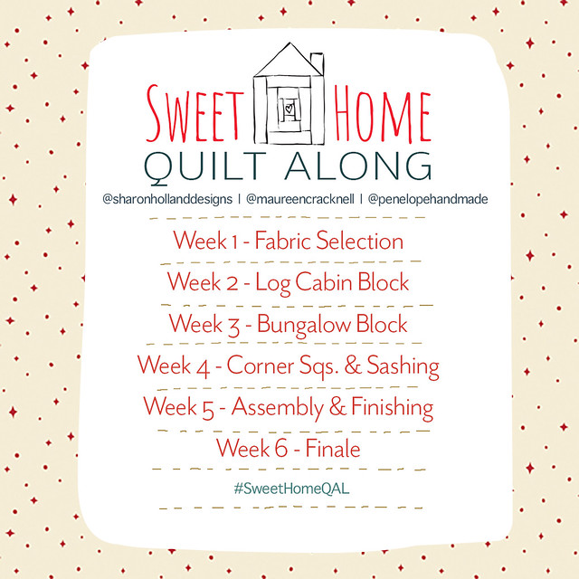 Sweet Home QAL Schedule