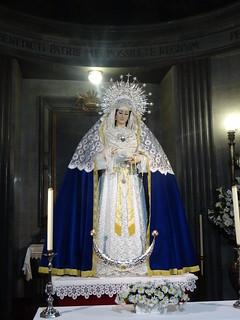 Nuestra Señora de los Dolores en su Mayor Soledad