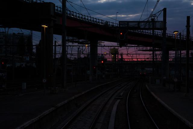 Leaving Charleroi-Sud.