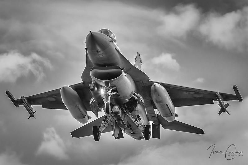 A Brief Look At My Flickr Photos - General Dynamics F-16AM Fighting Falcon – Belgium-Air Force – FA-106 – Kleine Brogel (EBBL) – 2020 08 19 – Landing RWY 23R – 01 – Copyright © 2020 Ivan Coninx