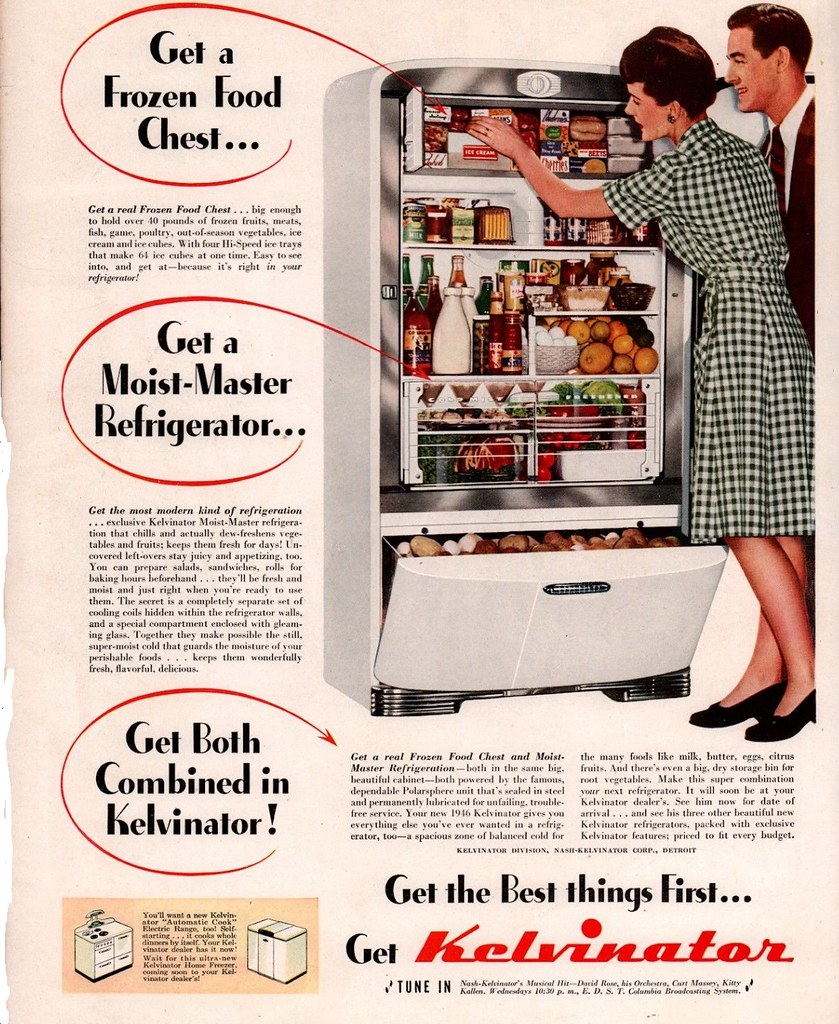 Kelvinator 1946