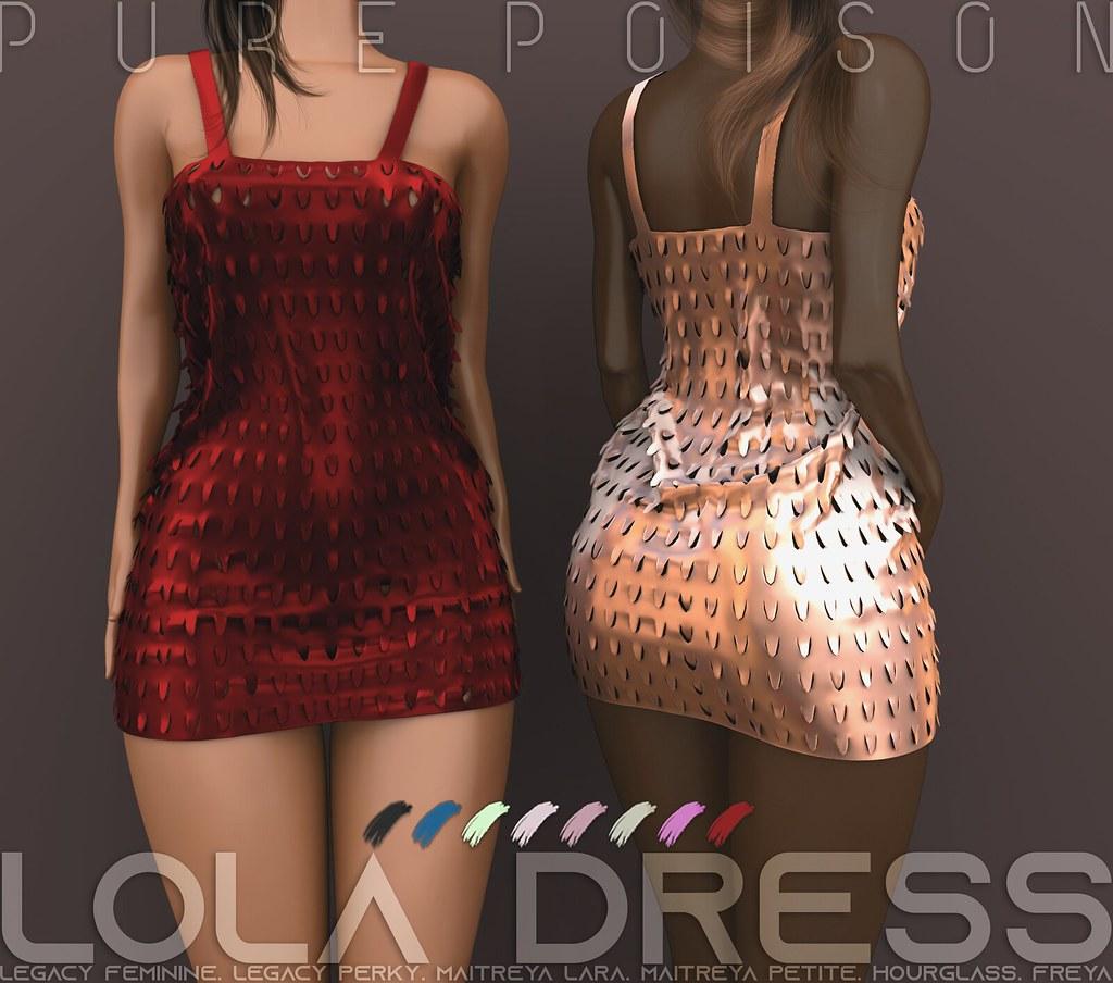 Pure Poison – Lola Dress AD