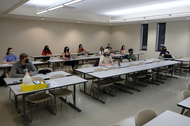 Indoor and Outdoor Classes - September 2020