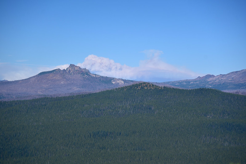 Three Fingered Jack and Lionshead Fire