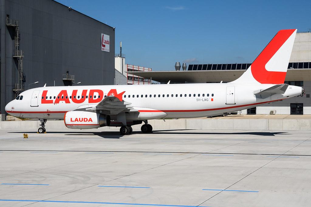 Lauda Europe Airbus A320-232 9H-LMG