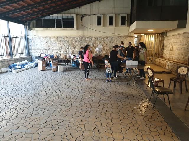 Emergenza Beirut - i primi aiuti