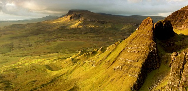 morning sunrise  7.01am -  Quiraing, Isle of Skye, Highland, Scotland, UK