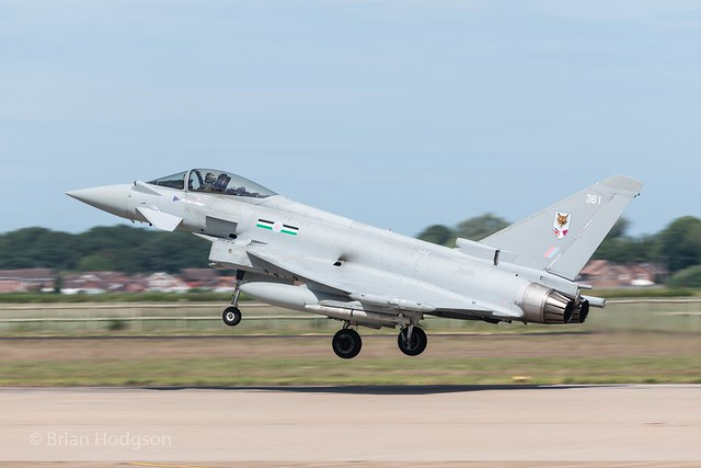 ZK361  '361'  Typhoon FGR4  RAF  12 Sq