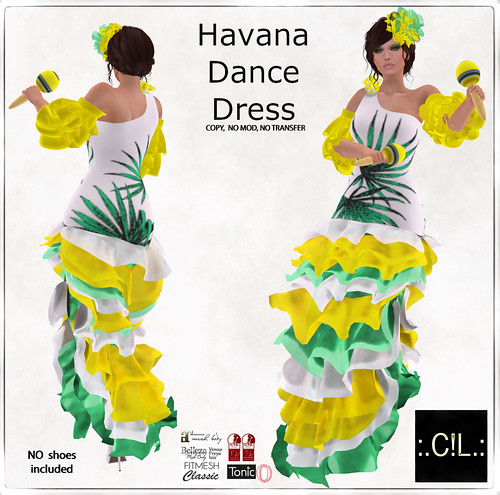 :.C!L.: Havana Dance Flare Dress & Accessories Set Poster