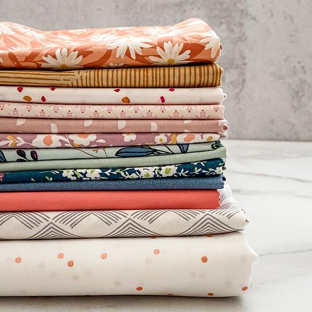 Maureen -- Sweet Home Quilt Kit Stack
