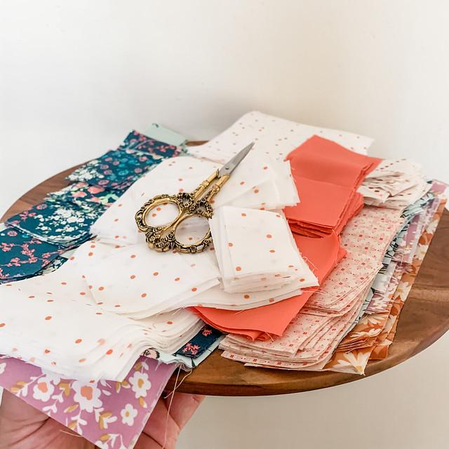 Maureen -- Sweet Home Quilt Cut