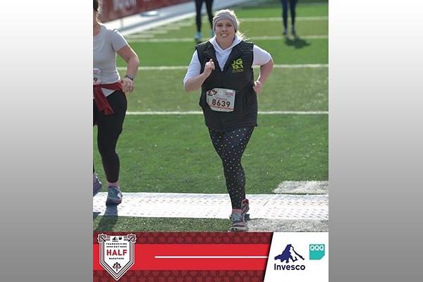 Jennifer Mashburn running